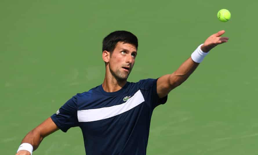 Novak Djokovic, who attributes his return to form to a gluten-free diet.