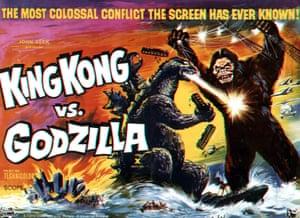 King Kong vs Godzilla,  1963 poster