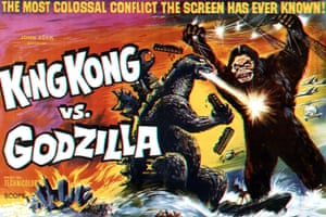 Double trouble... poster for the original 1963 King Kong vs Godzilla.