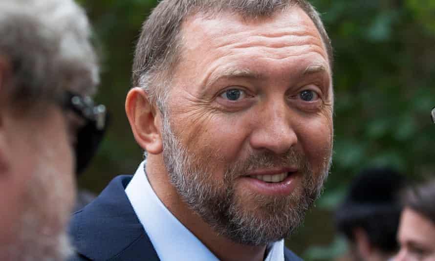 Oleg Deripaska seen in Moscow in 2015.