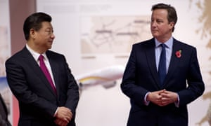 """'Some of the criticism levelled at David Cameron for keeping silent on democratic values in order to please the visiting Chinese """"emperor"""" was reminiscent of many other occasions when European governments have become mute in the face of Chinese authoritarianism.'"""