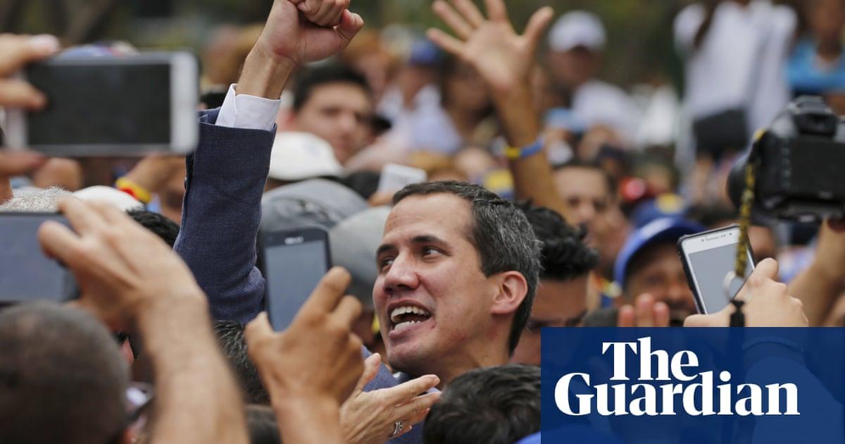 Venezuela: opposition leader Guaidó asks US military for 'strategic planning' help