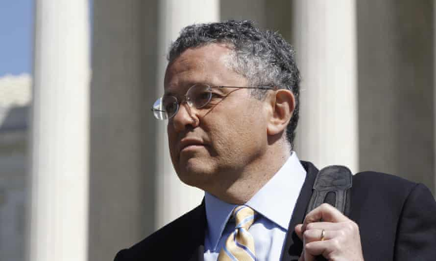 Jeffrey Toobin at the supreme court in 2012.