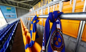 It's groundbreaking, pioneering': Shrewsbury bring in safe standing