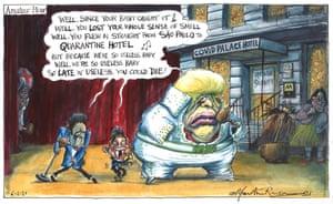 Martin Rowson cartoon 06.02.2021