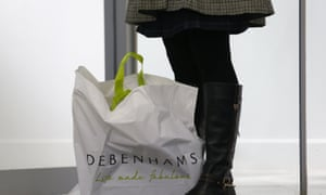 Debenhams boss Michael Sharp says the chancellor's plans for further austerity is denting consumer spending.