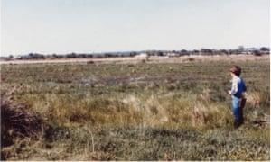 Sean Dooley at Seaford Swamp in June 1980.