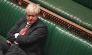 Boris Johnson at the House of Commons in Westminster on Monday.