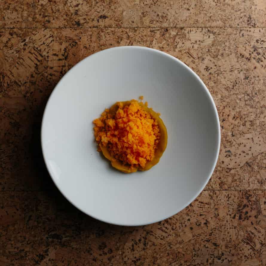 SILO-Guardian Grace Dent-Pumpkin-Icecream-1: 'A tiny suggestion of pumpkin ice-cream is, however, delicious'