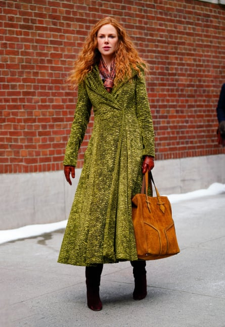Nicole Kidman in the divisive coat from HBO's The Undoing.