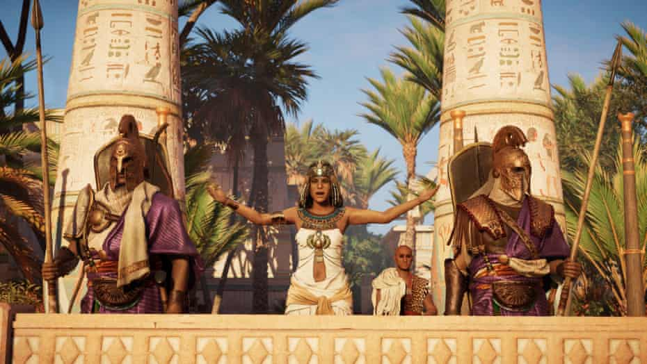 'Those who've played through Assassin's Creed Origins know this world, but they haven't taken the time to look and listen to it.'