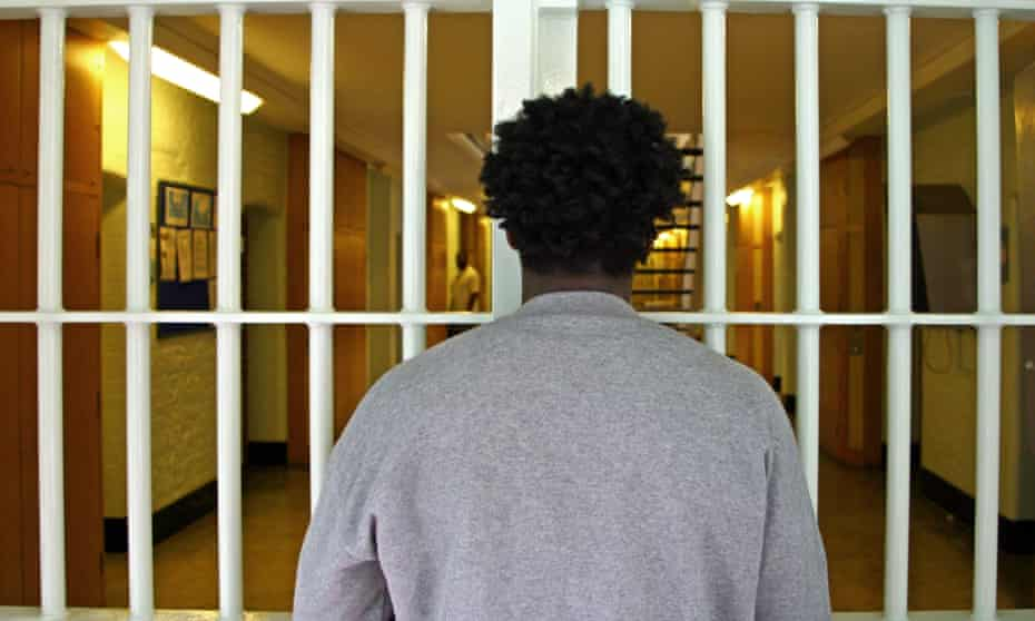 An inmate at Wandsworth prison in London