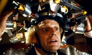 It's not quite the same as in Back to the Future, but the study found that a type of transcranial direct current stimulation helped participants solve problems.