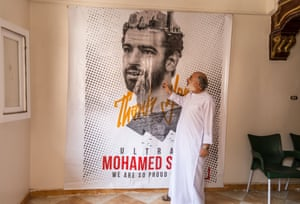 Mohamed el Bahnasy, Director of the Mohamad Salah Charitable Foundation at the foundation's offices in Nagrig.