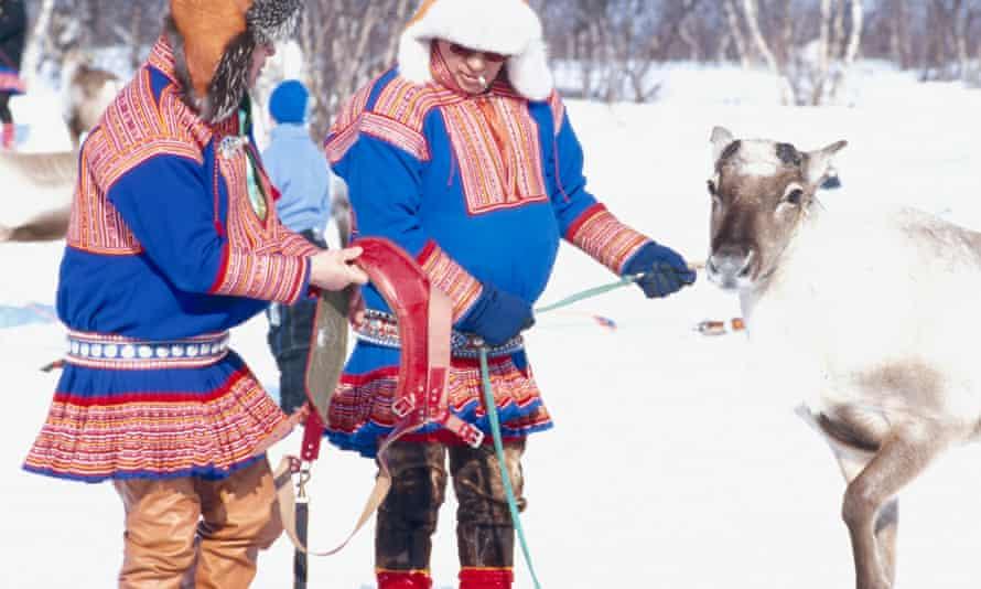Sami people in northern Sweden