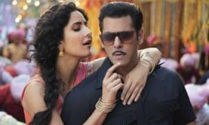 Good chemistry … Katrina Kaif and Salman Khan in Bharat.