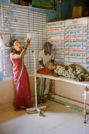 'This wasn't about making a comment on hygiene in hospitals' … Untitled (9) by Gauri Gill, from the series Acts of Appearance, 2015.