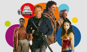 No Time to Die, Ghostbusters: Afterlife, Dune, Wonder Woman 1984