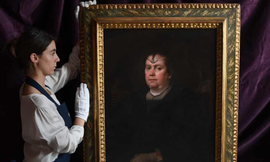 Portrait of Olimpia Maidalchini Pamphilj