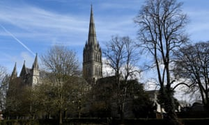 The Russians were so keen to visit Salisbury Cathedral that they travelled to the city twice.