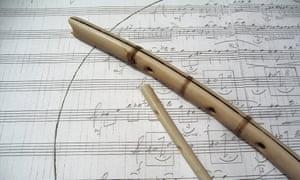 Haunting timbres… bone flutes.