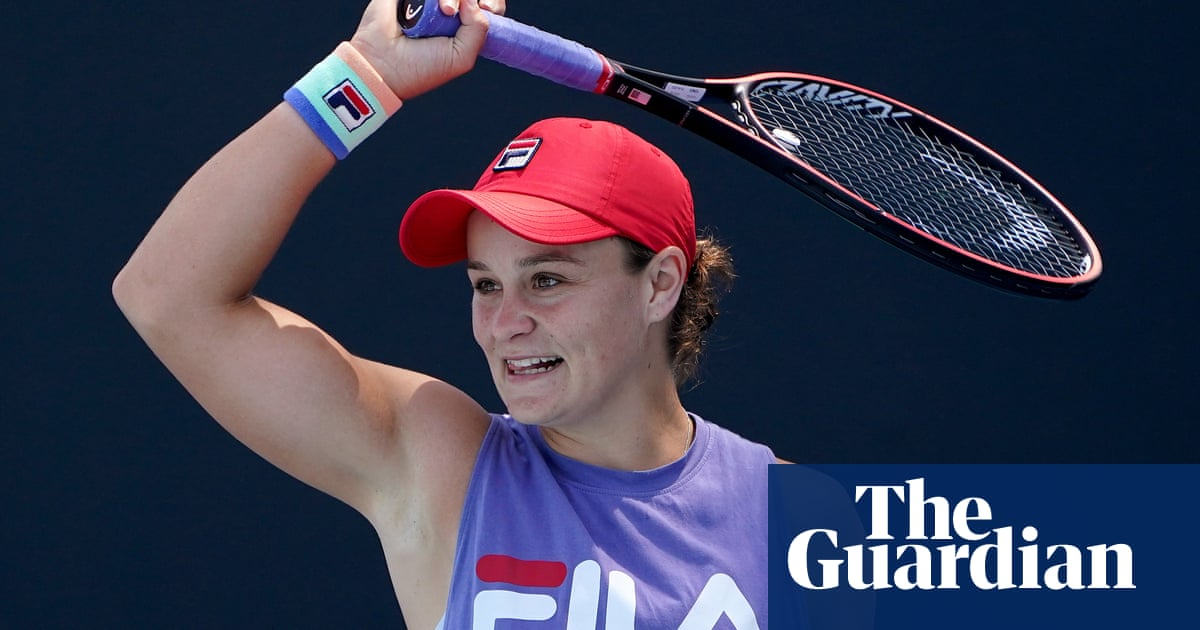 Ashleigh Barty on course for Australian Open summit with Simona Halep