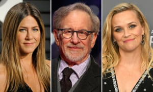 Apple's new batch: Jennifer Aniston, Steven Spielberg, and Reese Witherspoon