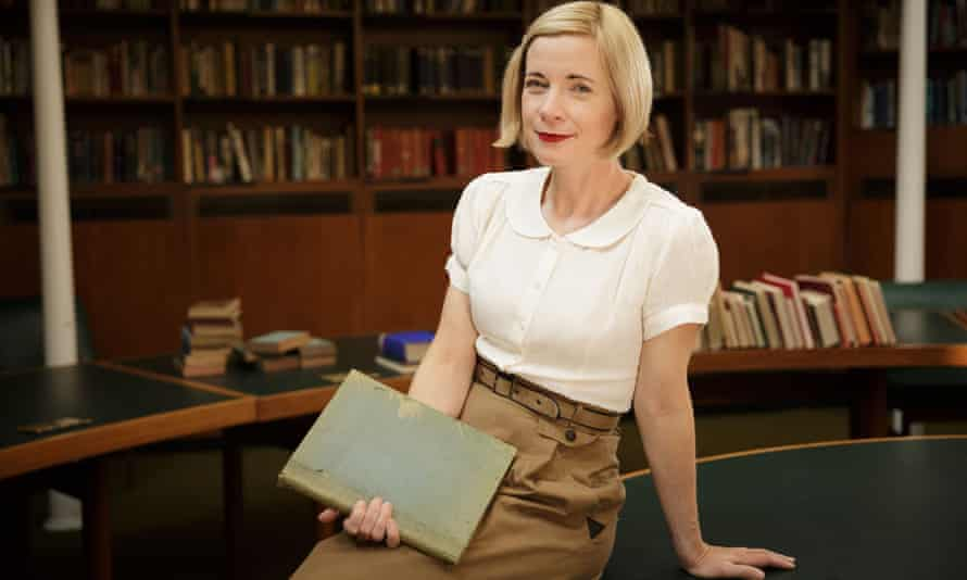 Lucy Worsley presenting Blitz Spirit … 'History documentaries are as much about the present as they are the past'