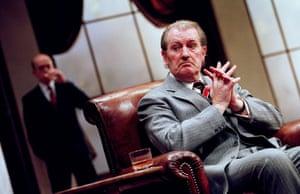 No Man's Land Andy de la Tour and Corin Redgrave, directed by Harold Pinter. Lyttelton, National Theatre, London, 2001.
