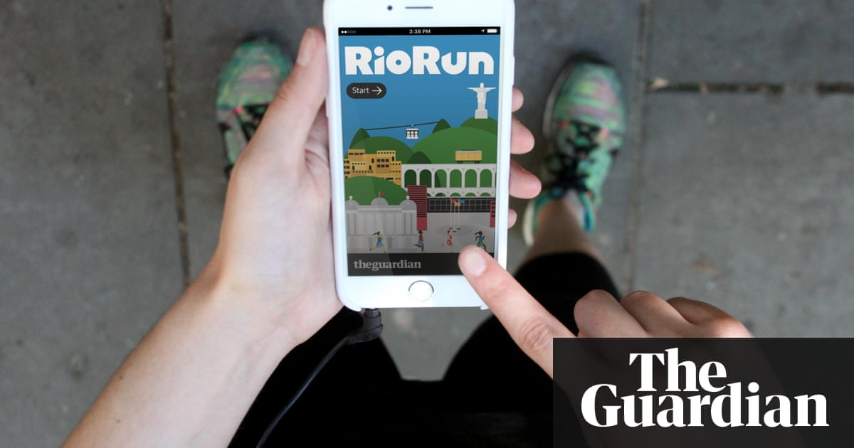 How we made the RioRun progressive web app | Info | The Guardian