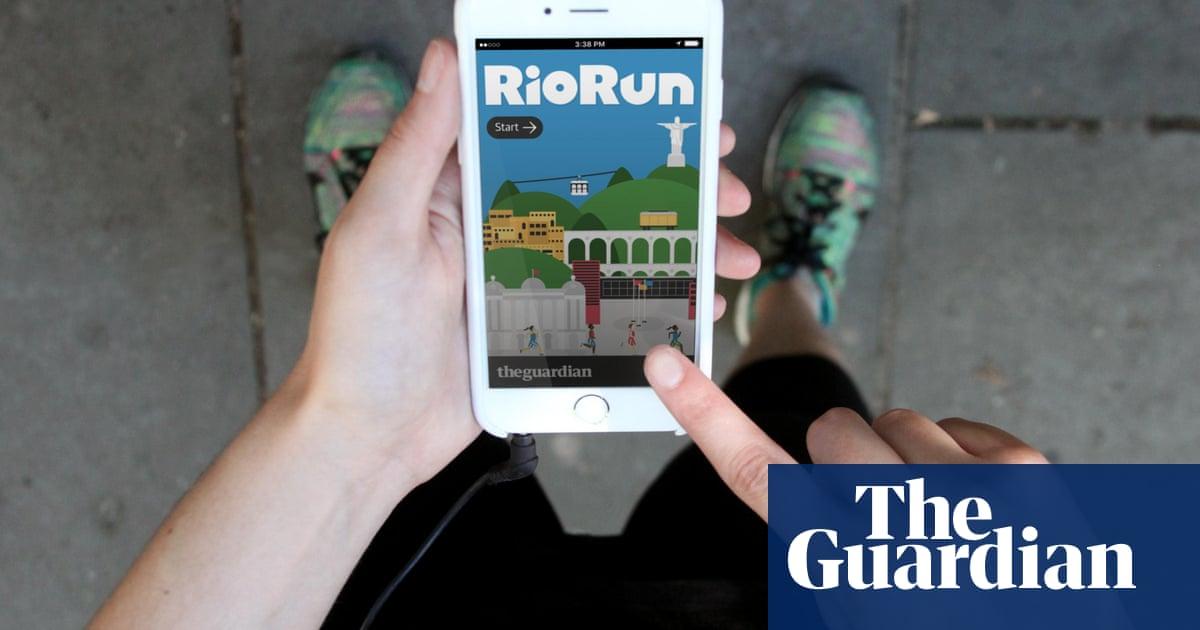 How we made the RioRun progressive web app | Info | The Guardian