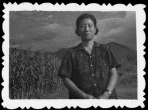 Jung Chang's mother in the labour camp in Xichang, just before she was released in 1971.