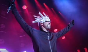 The man in the hat is back … Jay Kay of Jamiroquai at the Roundhouse, London.