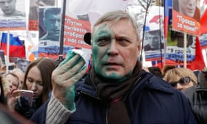 Opposition leader Mikhail Kasyanov