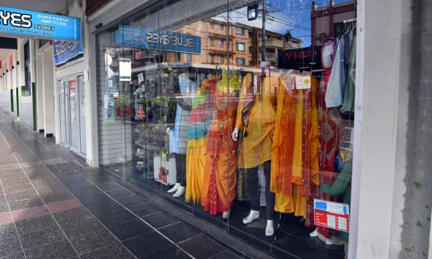 Un magazin de haine este închis în Lakemba, în sud-vestul orașului Sydney, unde există o comunitate musulmană puternică.