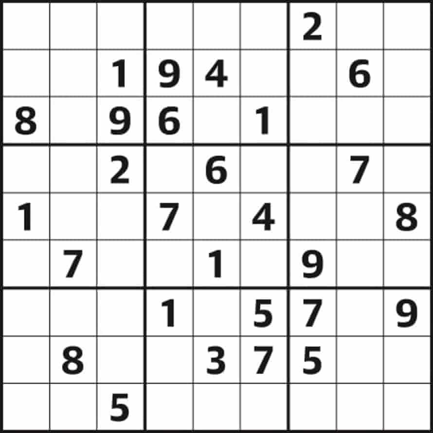 Sudoku 3886 easy