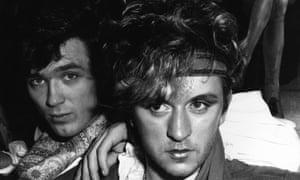 Steve Strange, right, and Martin Kemp at Tokyo Joe's in London in 1981.