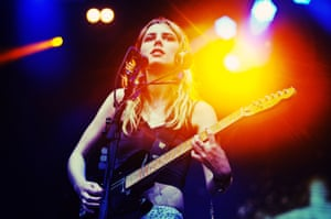 Ellie Rowsell of Wolf Alice.
