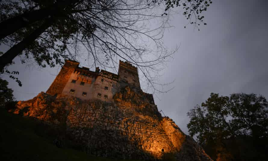 Return to Dracula's foundations … Bran Castle in the former Transylvania in Romania, popularly known as the vampire's castle.