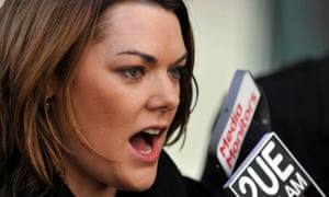 Sarah Hanson-Young in Canberra.