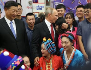 The Far Eastern Federal University at Russky Island, where the Eastern Economic Forum begins on Wednesday, in Vadivostok, Russia,.