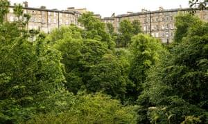 The Dean Gardens in Edinburgh.