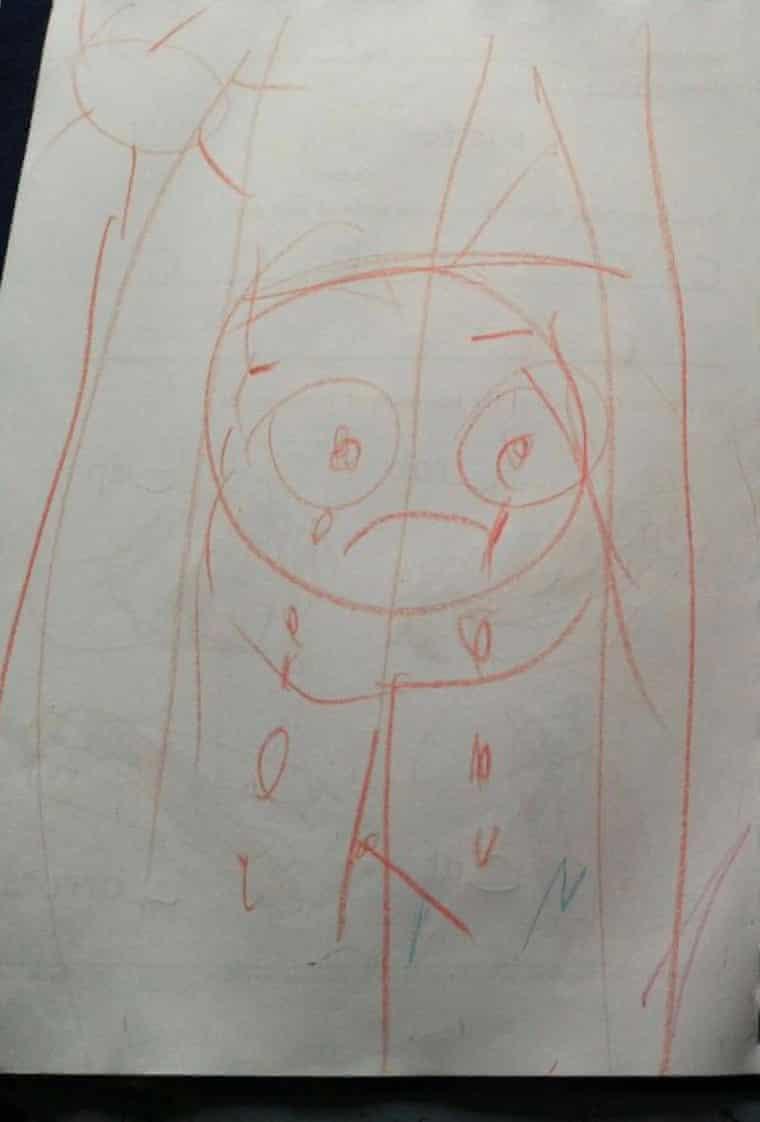 One of Ahoora's drawings.