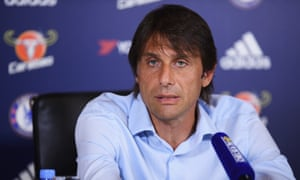 Antonio Conte speaks to the media ahead of Chelsea's Premier League match against Burnley on Saturday