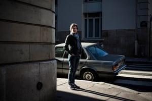French journalist Antoine Leiris  photographed in Paris