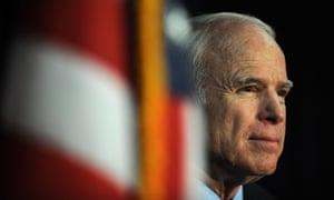 John McCain, seen in 2008.
