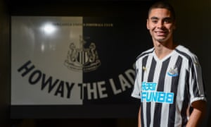 Newcastle have broken their record for a transfer with Miguel Almiron