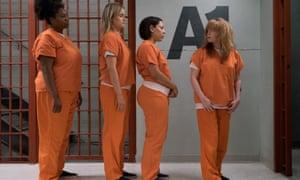Adrienne C. Moore, Taylor Schilling, Selenis Leyva and Natasha Lyonne in Orange Is the New Black