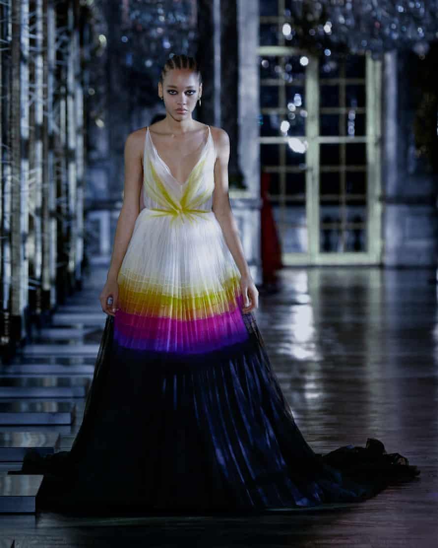 Dior and Schiaparelli weave surreal fairytales at Paris fashion week