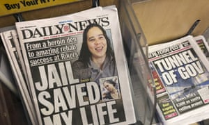 Copies of the New York Daily News are for sale at a news stand in New York City on Monday.
